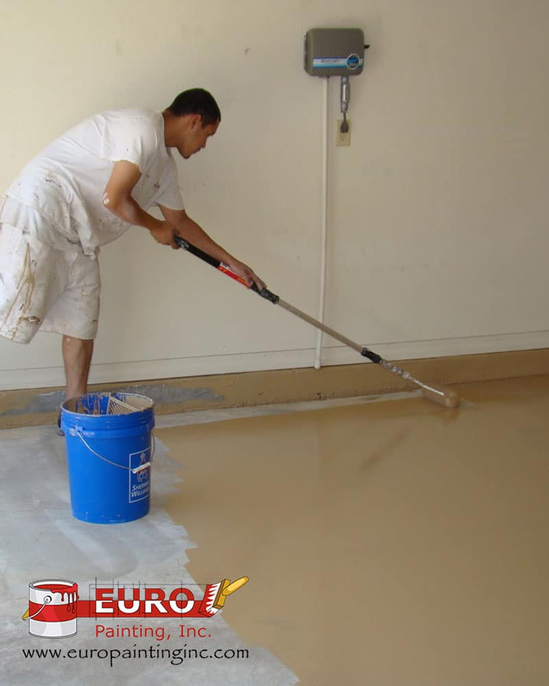 Traditional Epoxy Floor System