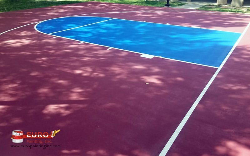 Basketball Court Creating and Painting