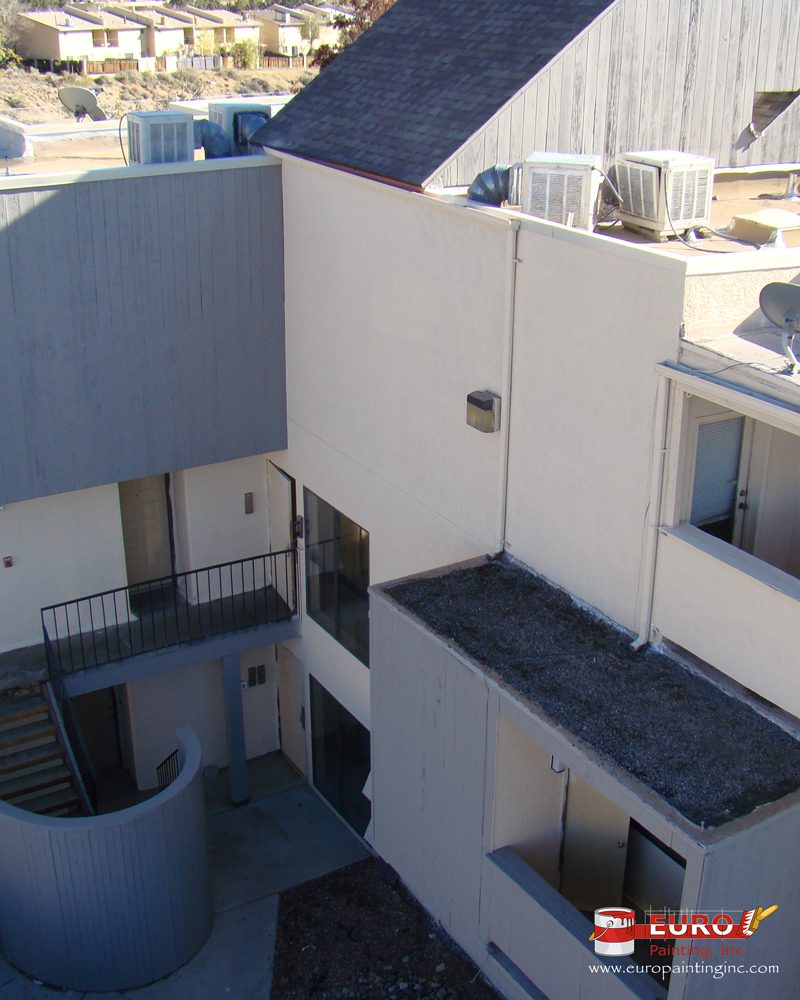 Exterior Apartment Painting After