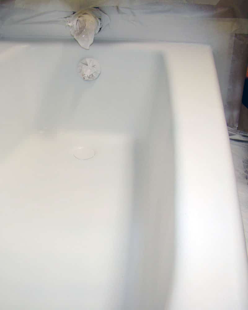 Tub Resurfacing Process