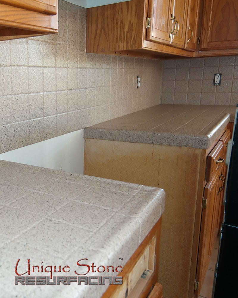 Refinishing Tile Countertops